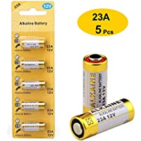 5-Pack LiCB A23 23A 12V Alkaline Battery