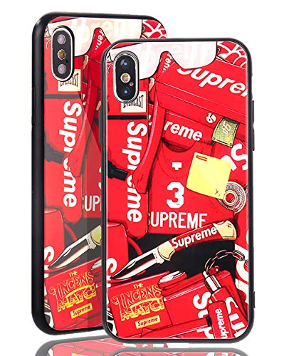 SUP Supreme Sticker Case - Glass