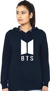 Melcom Cotton Navy Blue Sweatshirt : BTS