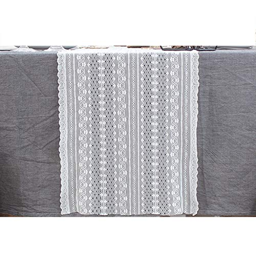 LCSHAN Table Runner Coffee Table Lace Vintage Dining Table Modern Minimalist Table Decoration Cloth Strip (Size : 160cm)