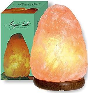 GEOFOSSILS Lámpara de Sal de Roca de Cristal del Himalaya Terapéutica Natural - 3-5kg