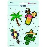 Stoffe Werning Applikationen Patches Palme Kaktus - Preis