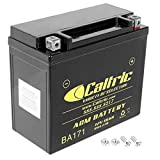 Caltric compatible with Ytx20L-Bs Agm Battery Harley...