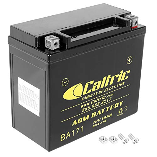 Caltric compatible with Agm Battery Seadoo Gtx 1995 1996 1997 1998 1999 2000 2001