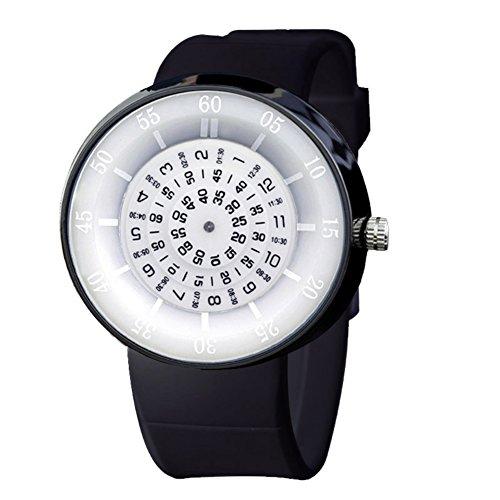 Digitale stoppuhr,Personalisieren Quartz Uhr Versteckt Zeit-kennwort Kaskade-Nummern Plattenspieler Nachhaltige-E