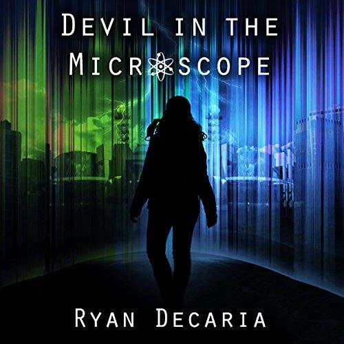 Devil in the Microscope audiobook cover art
