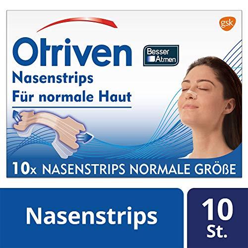 Otriven Besser Atmen Nasenstrips, beige, normale Größe, 10 Stück