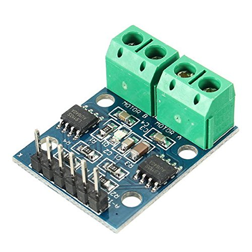 xingxing Lot de 2 modules d'entraînement L9110S H Bridge Moteur pas-à-pas CC pour Arduino – Produits qui fonctionnent avec les cartes Arduino officielles.