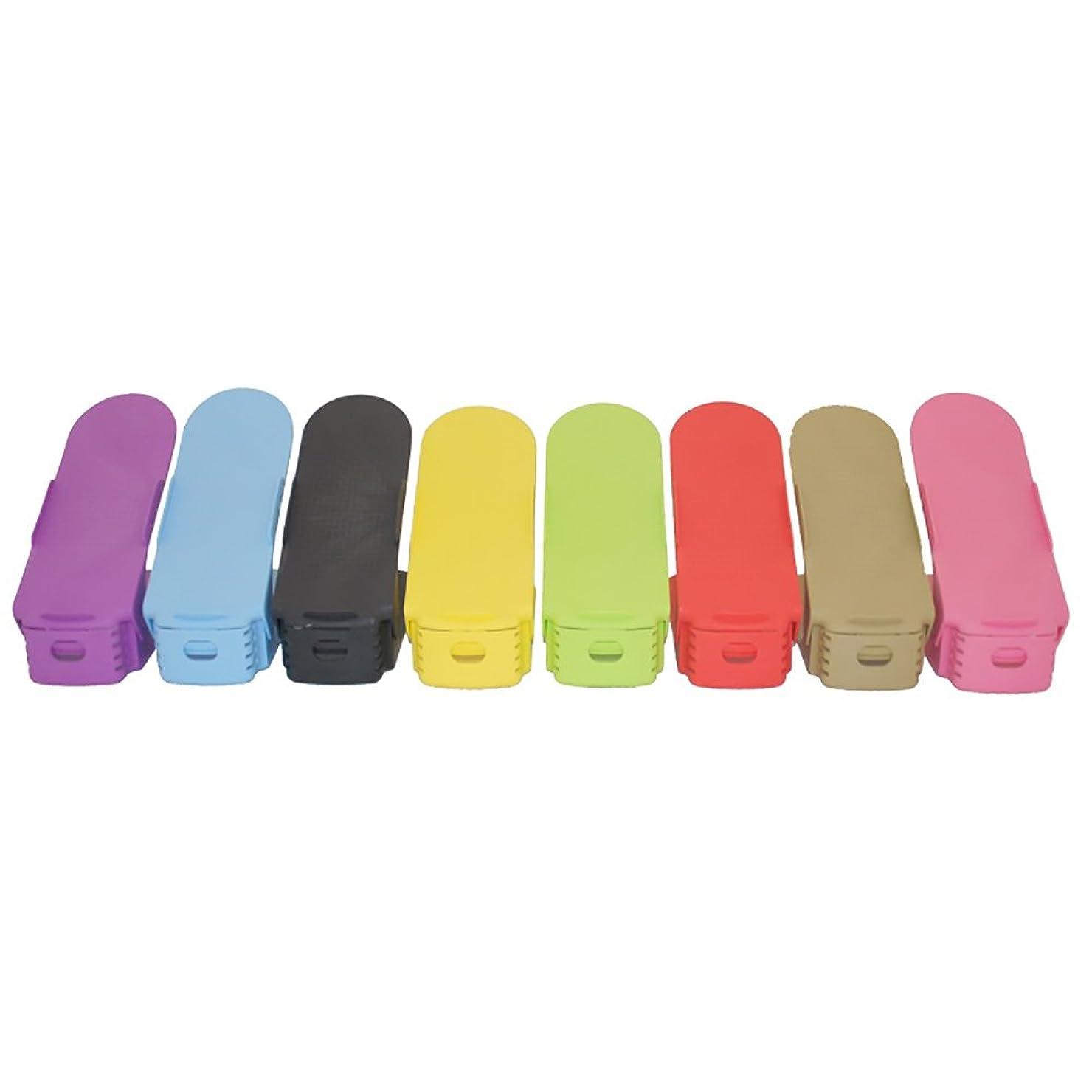 工場流用する感嘆GY 実用的な靴ラック - 調節可能なプラスチック製の靴ラック - 入り口靴ラックダブルシェルフキャビネットタワーはスペースを節約する / + - + / (Color : 4)