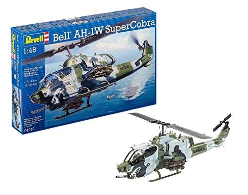 Revell Maqueta Helicóptero Bell Ah-1W Supercobra, Kit