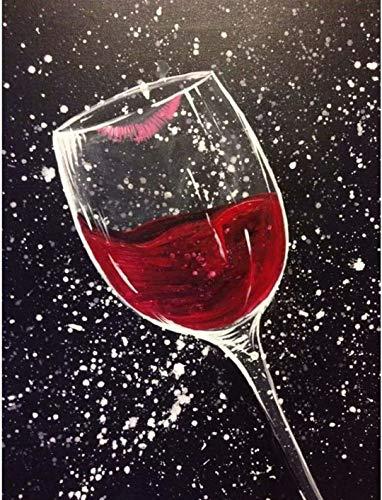Puzzles Rompecabezas 1500 Piezas para Entretenimiento Copa de Vino Tinto para Adultos Rompecabezas de Madera Juguetes 87x57cm