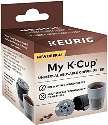 Keurig My K-Cup Universal Reusable Filter MultiStream Technology - Gray