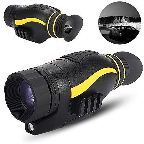 Digitaal Nachtzicht Monoculair Zicht Infrarood-Verrekijker Nachtzicht Infrarood-Verrekijker HD Digitale Camera Met Videoweergave USB-Uitgang Functie Voor Jacht Wildobservatie