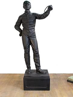 The Kings Bay Old Lawn Jockey Statue equestrian horse lovers sculpture vintage custom paint