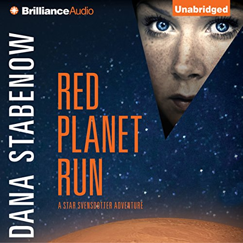 Red Planet Run audiobook cover art