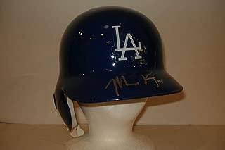Matt Kemp Signed Batting Helmet Dodgers – COA PSA/DNA