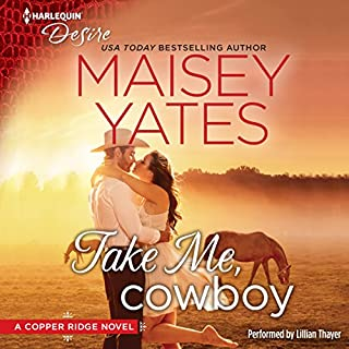 Take Me, Cowboy audiobook cover art