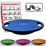 POWRX Balance Board inkl. Workout I...