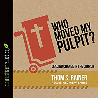 Who Moved My Pulpit? audiobook cover art