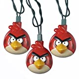Kurt Adler UL 10-Light Injection Mold Angry Birds Light Set