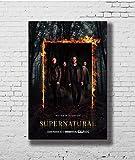 Poster Supernatural 15 Season Hot TV Show Art - No Frame (16 x 24)