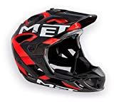 MET M3helm98s0nr Casco, Unisex Adulto, Rojo, S