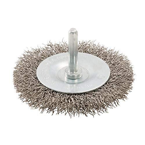 Silverline 525076 - Cepillo circular de acero inoxidable (100 mm)