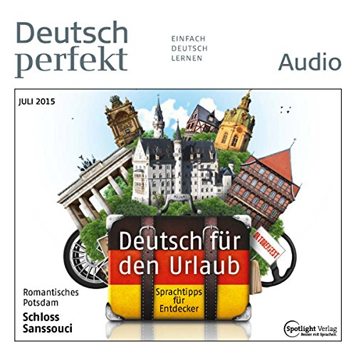 Deutsch perfekt Audio. 7/2015 cover art