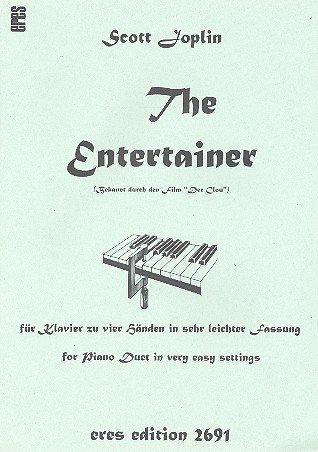 The Entertainer: für Klavier zu 4 Händen in sehr leichter Fassung