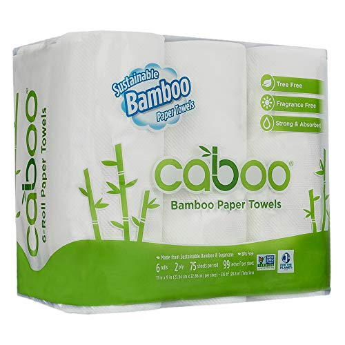 Image of Caboo Tree Free Bamboo...: Bestviewsreviews