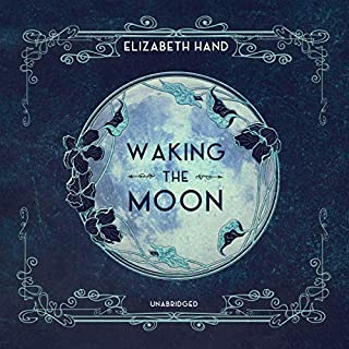 Waking the Moon audiobook cover art
