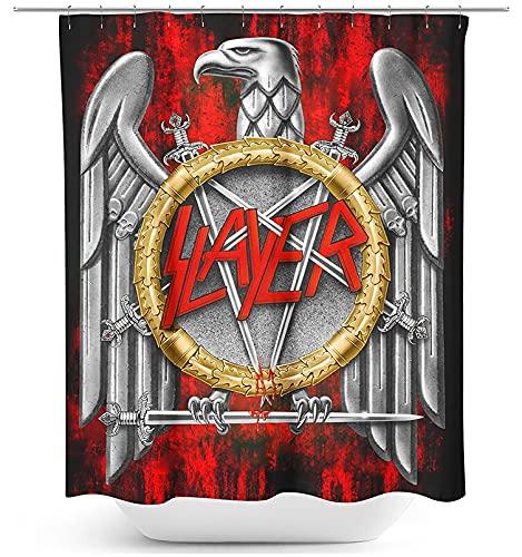 Slayer Eagle Unisex Duschvorhang Standard 100% Polyester Band-Merch, Bands