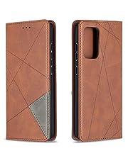 Hoesje voor Galaxy A52 5G Wallet Book Case, Magneet Flip Wallet met Kaarthouders slots Robuuste schokbestendige Bookcase voor Samsung Galaxy A52 5G -