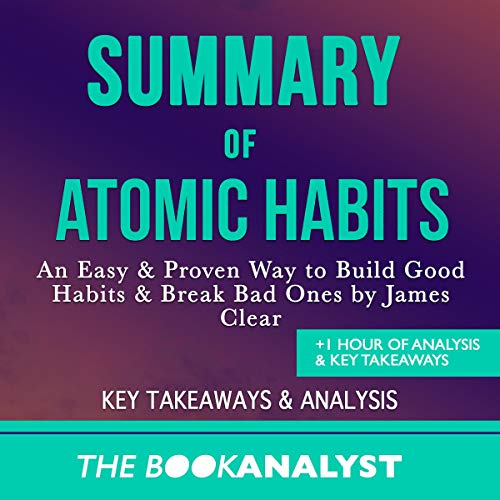 Summary of Atomic Habits audiobook cover art