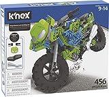 K'nex- Imagine Mega Moto de Carreras Juego de Construcción, Color Variado (Fábrica de Juguetes 41327)