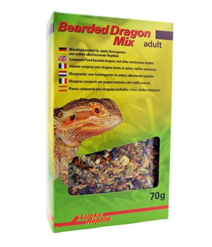 Bearded Dragon Mix Adult 70 g, Spezialfutter für adulte Bartagamen und andere Reptilien