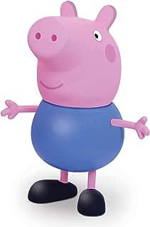 Boneco e Personagem George Peppa Pig Vinil 13 Cm, Elka, Multicor