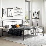 DHP Beaumont Meta Bed, Black, King
