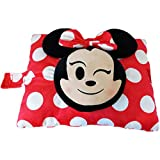 Pillow Pets Disney Minnie Mouse Emoji Super Soft Stuffed Animal Plush Toy Pillow