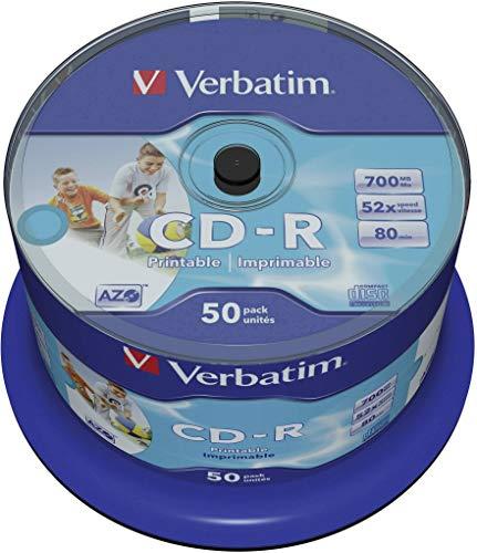 Verbatim CD-R Wide Printable Bild