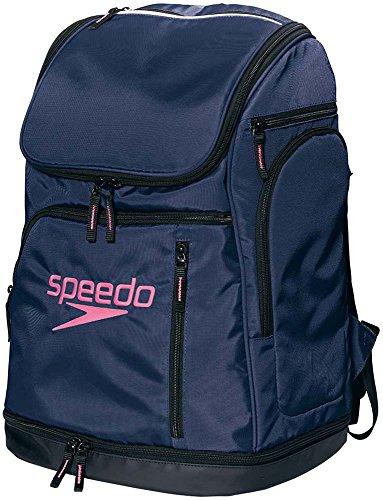 Speedo(スピード) バッグ スイマーズリュック 水泳 ユニセックス SD96B01 ネイビーブルー ONESIZE