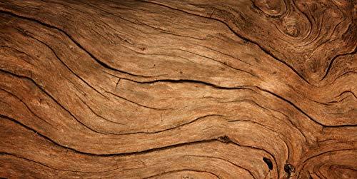 Magnettafel Pinnwand XXL Magnetbild Holz hell Holzoptik Größe 120 x 60 cm