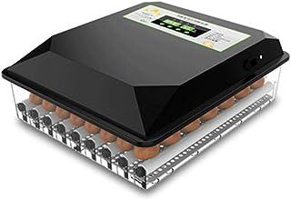 LBBL Egg Incubator, Temperature Control Ultrastille LED-verlichting Volautomatisch Hatcher Machine Draaien Vermogen 80W Fo...