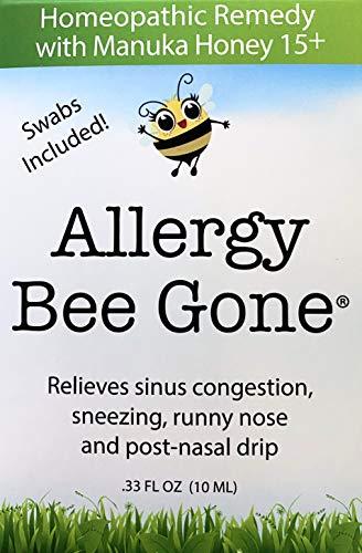 Allergy Bee Gone Natural Nasal Swab Remedy for Seasonal...