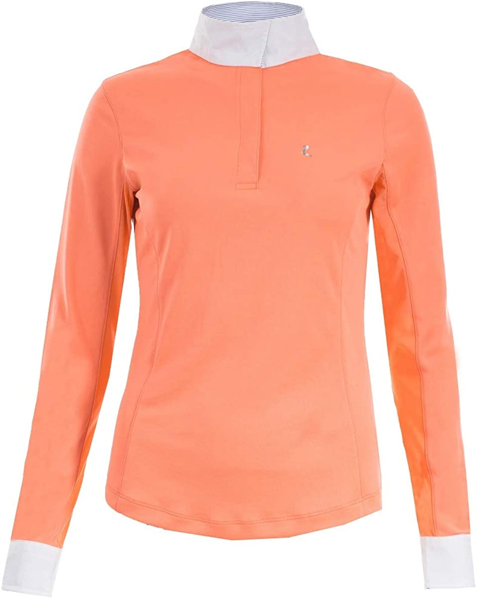 Horze Limited Max 43% OFF At the price of surprise Color Blaire Flamingo Pink Women's Fu Long-Sleeved