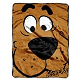 The Northwest Company Warner Bros Scooby Doo, Close Canine Micro Raschel Throw Blanket, 46 by 60-Inch