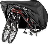 Manta Raya Funda para Bicicleta Resistente al Agua y Anti-UV Cubiertas Protección para Bicicleta de montaña y Carretera (2 Biciletas)