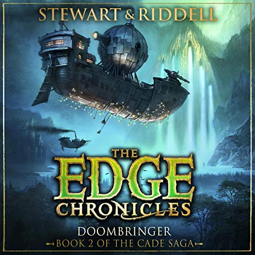 Doombringer     The Edge Chronicles, Book 12              By:                                                                                                                                 Paul Stewart,                                                                                        Chris Riddell                               Narrated by:                                                                                                                                 Dominic Thorburn                      Length: 7 hrs and 27 mins     1 rating     Overall 4.0