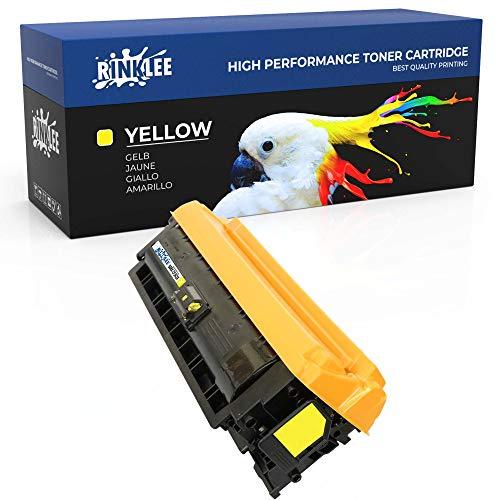 RINKLEE CF362X 508X (508A) Cartucho de Toner Compatible para HP Color Laserjet Enterprise M552dn M553n M553dn M553x M553dh MFP M577dn M577f Flow M577c | Alta Capacidad 9500 Páginas | Amarillo