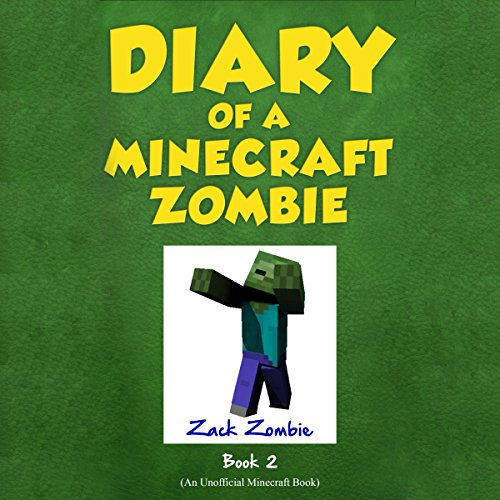 Diary of a Minecraft Zombie, Book 2 cover art